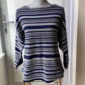 3/4 sleeve Boatneck Knit Sweater